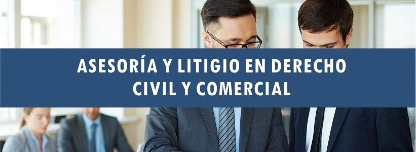 Asesoría y litigio en derecho civil y comercial