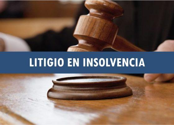 Litigio en insolvencia
